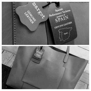 Margot Anthropologie Genuine Leather Shoulder Bag